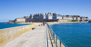 Saint Malo City Stock Image