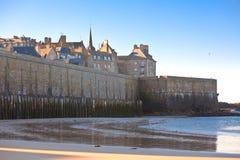 Saint Malo de la mer Image stock