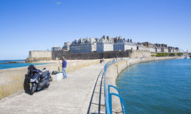 Saint Malo Royalty Free Stock Photos