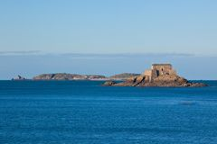 Saint Malo Fort Stock Photo