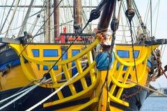 SAINT MALO, FRANÇA - 27 DE NOVEMBRO DE 2016: Porto em Saint Malo, França fotos de stock royalty free