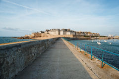 Saint Malo, France. View of Saint Malo, France Stock Photo