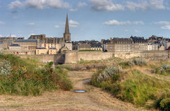 saint malo france Obraz Royalty Free
