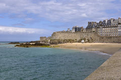 Saint-Malo in France Royalty Free Stock Photo