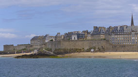 Saint-Malo in France Royalty Free Stock Photos