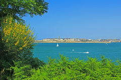 Saint Malo, France Royalty Free Stock Photo