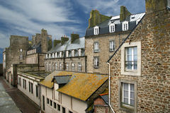 Saint-Malo-- France stock photos