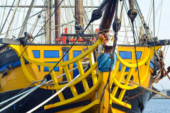 SAINT MALO, FRANKRIJK - NOVEMBER 27, 2016: Haven in Saint Malo, Frankrijk royalty-vrije stock foto's