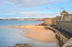 Saint Malo, la Bretagne, France Photos stock