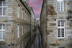 Saint Malo-- La Francia fotografie stock