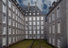 Saint Malo-- La Francia fotografia stock
