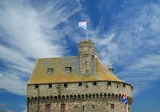 Saint Malo-- La Francia immagini stock