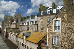 Saint-Malo-- northwestern France Stock Photo