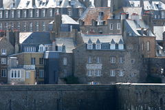 Saint Malo. Touristic Saint Malo fortified city in French Brittany Stock Photos