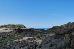 Saint-Malo. View of Saint-Malo beach Stock Photo