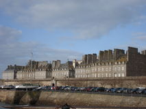 Saint Malo. In winter, 2007 Royalty Free Stock Photography