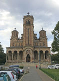 Saint Marc Cathedral in Belgrade, Serbia Royalty Free Stock Image