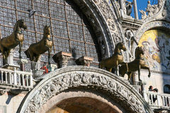 Saint Mark Basilica, Venice, Italy, architecture details Royalty Free Stock Images
