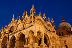 Saint Mark cathedral stock images