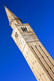 Saint Mark famous bell tower in Pordenone, Italy Stock Photo