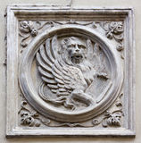 Saint Mark Lion Bas-Relief Stock Photos