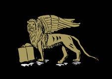 Saint Mark Lion,Venice Royalty Free Stock Photo