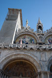 St Marks Basilica. Exterior of St Marks Basilica in Venice, Veneto, Italy Royalty Free Stock Images