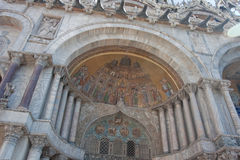 Saint Marks Basilica. Architectural detail of Saint Marks Basilica in Venice, Italy Stock Photography