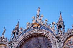 St Marks Basilica Royalty Free Stock Photo