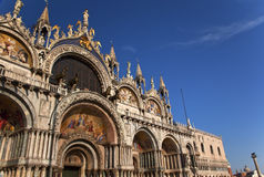 Saint Mark's Basilica Details Venice Royalty Free Stock Photo