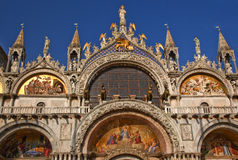 Saint Mark's Basilica Details Venice Italy royalty free stock photos