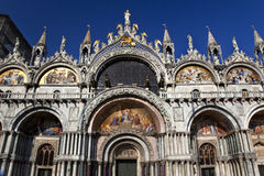 Saint Mark's Basilica Details Venice Italy Royalty Free Stock Images