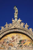 Saint Mark's Basilica exterior mosaic Royalty Free Stock Photo