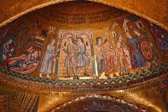 Saint Mark's Basilica Mosaic Venice Italy Royalty Free Stock Image