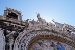 Saint Mark's Basilica. In Piazza San Marco, Venezia, Italy Stock Images