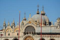 Saint Mark`s Basilica in Venice, Italy Stock Image