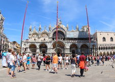 Saint Mark`s Basilica, Venice Royalty Free Stock Images