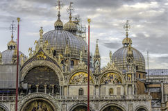 Saint Mark's church detail Royalty Free Stock Images
