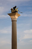 Saint Mark's column, Venice Royalty Free Stock Photo
