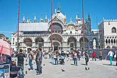 Saint Mark's Square, Venice, Italy Royalty Free Stock Photo