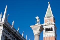 Saint mark square campanile Stock Photo