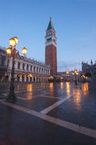 Saint Mark Square in Venice, Italy Royalty Free Stock Photography
