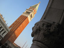 Saint Marks Campanile Stock Photo