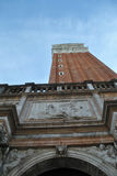 Saint marks campanile. In San Marco Square, Venice, Italy Stock Image
