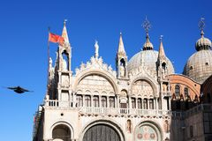 Saint Marks Cathedral, Venice, Italy Royalty Free Stock Photo
