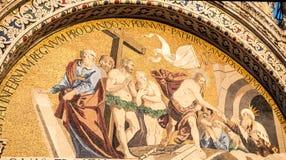 Saint marks venice mural Stock Image