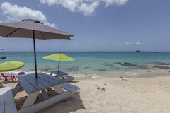 Saint Martin Beach Stock Images