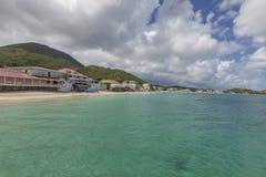Saint Martin Beach Stock Images