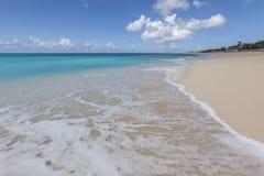 Saint Martin Beach Stock Photo