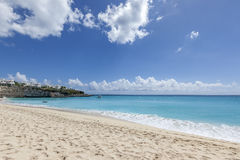 Saint Martin Beach Royalty Free Stock Images
